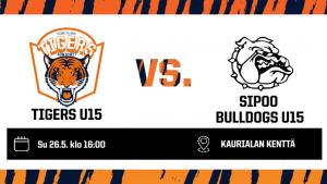 TIGERS U15 vs BULLDOGS U15