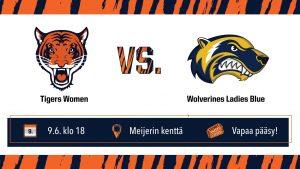 Tigers Women vs Wolverines